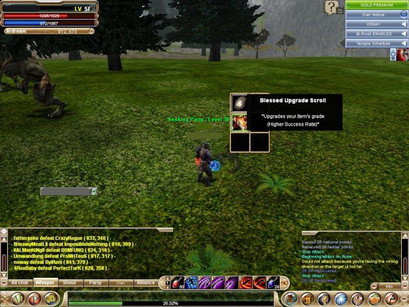 knight online farm drop bus